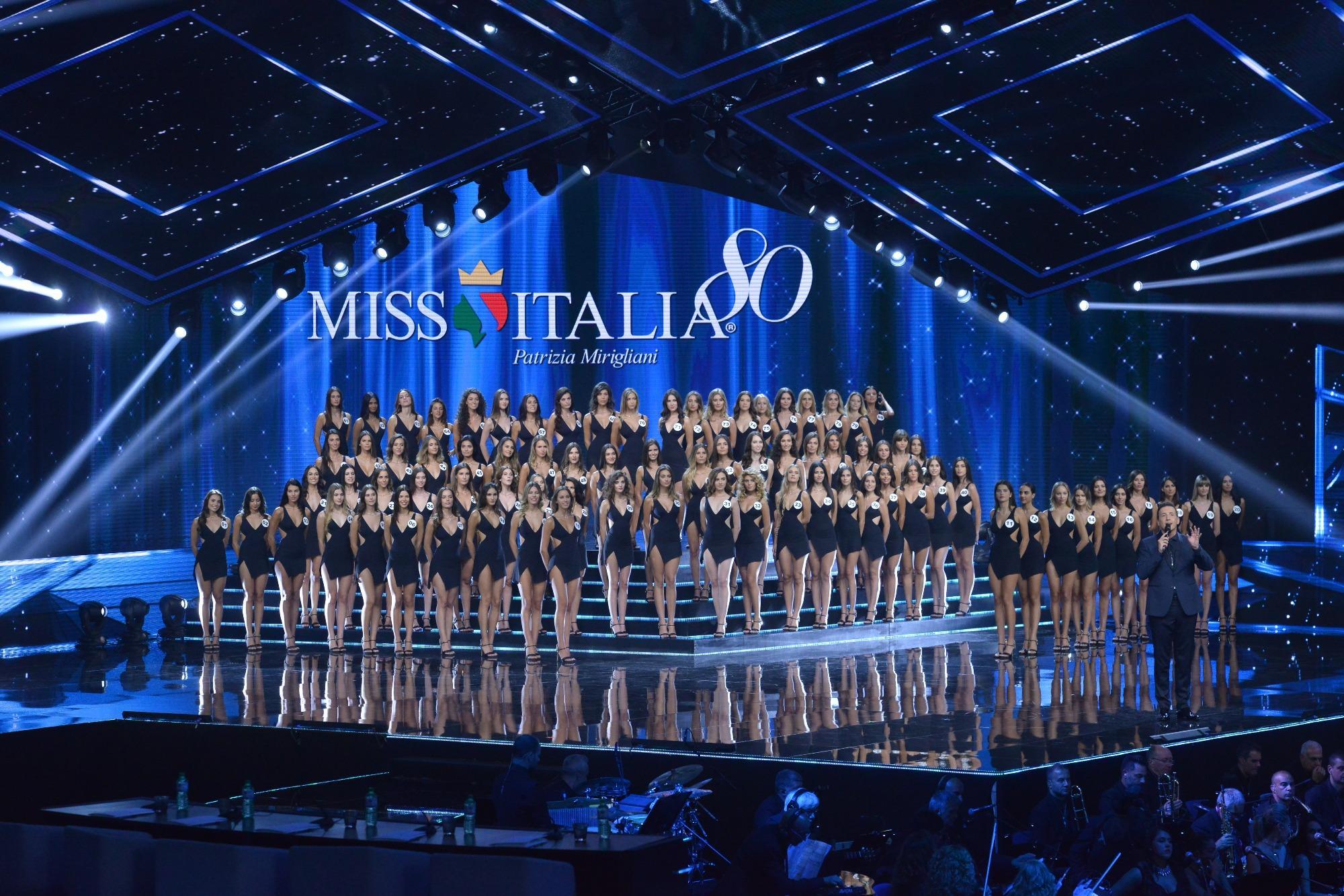 Miss Italia 80, le immagini della finale