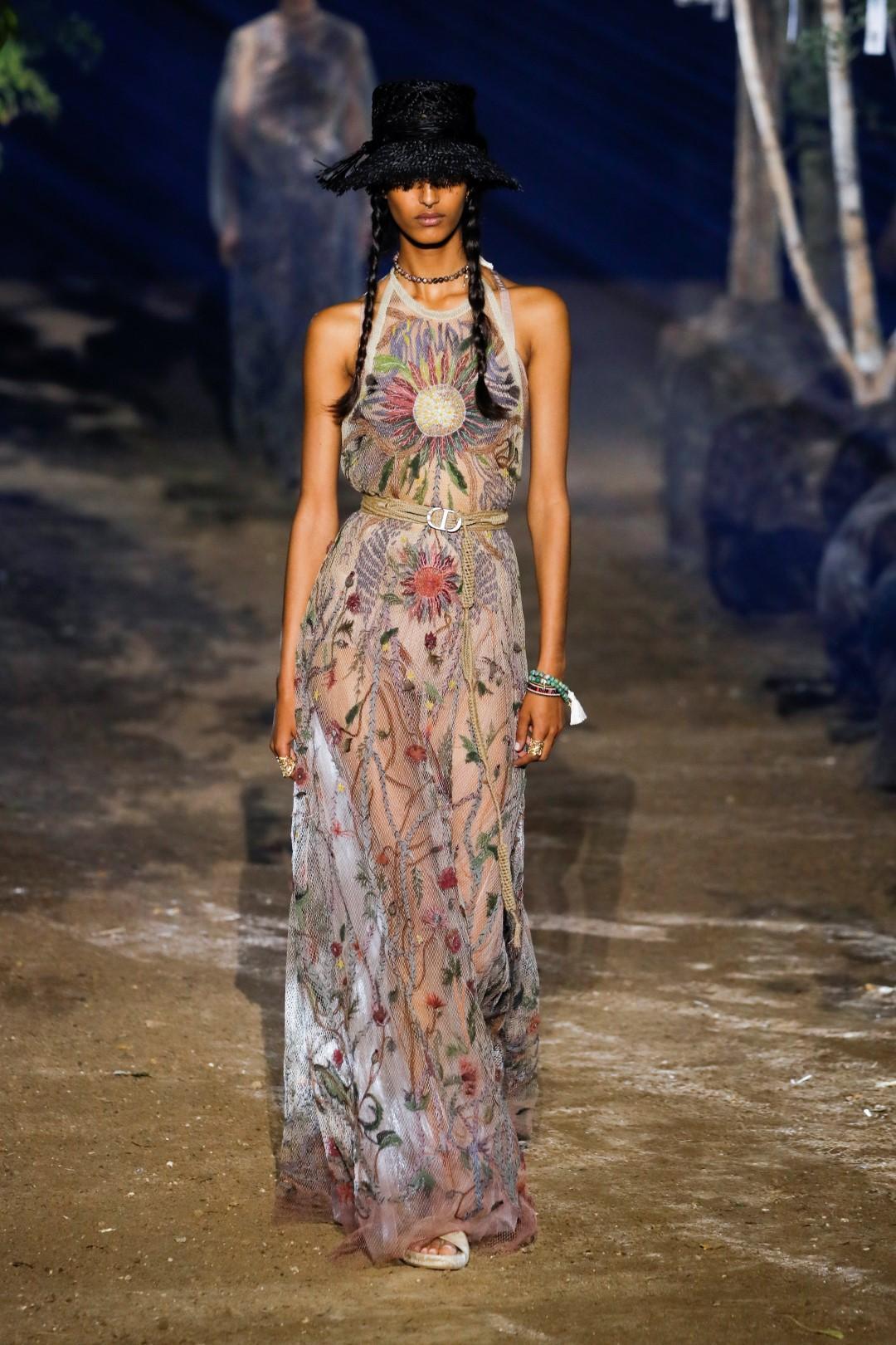 Dior primavera-estate 2020: un'ode alla natura