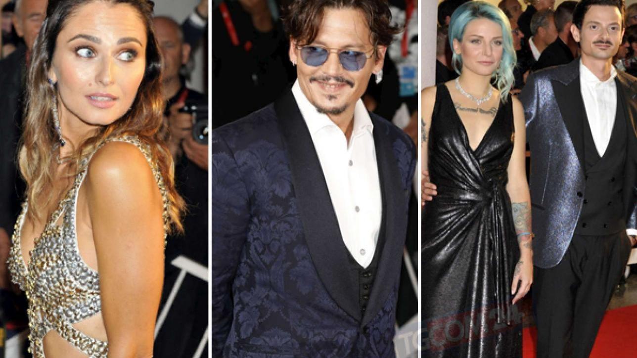 Venezia 76, Johnny Depp e Anna Safroncik illuminano il red carpet