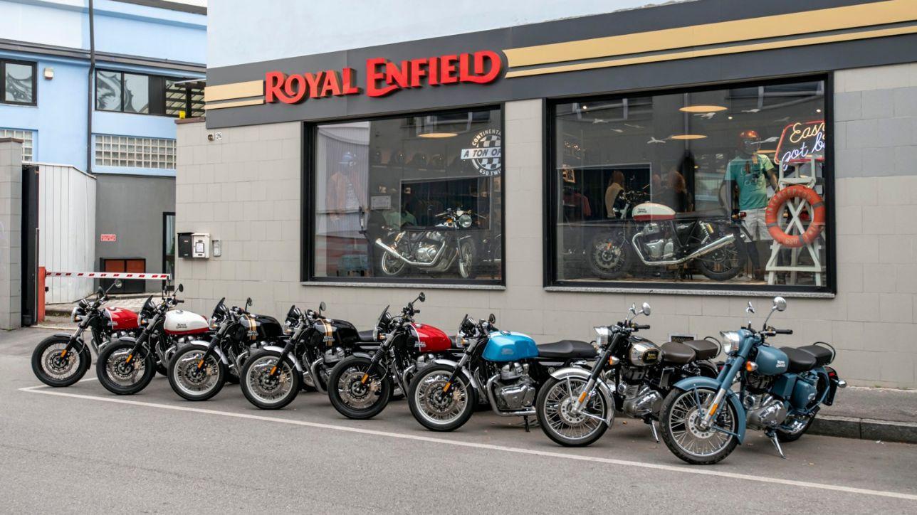 Royal Enfield, apre il primo Store italiano