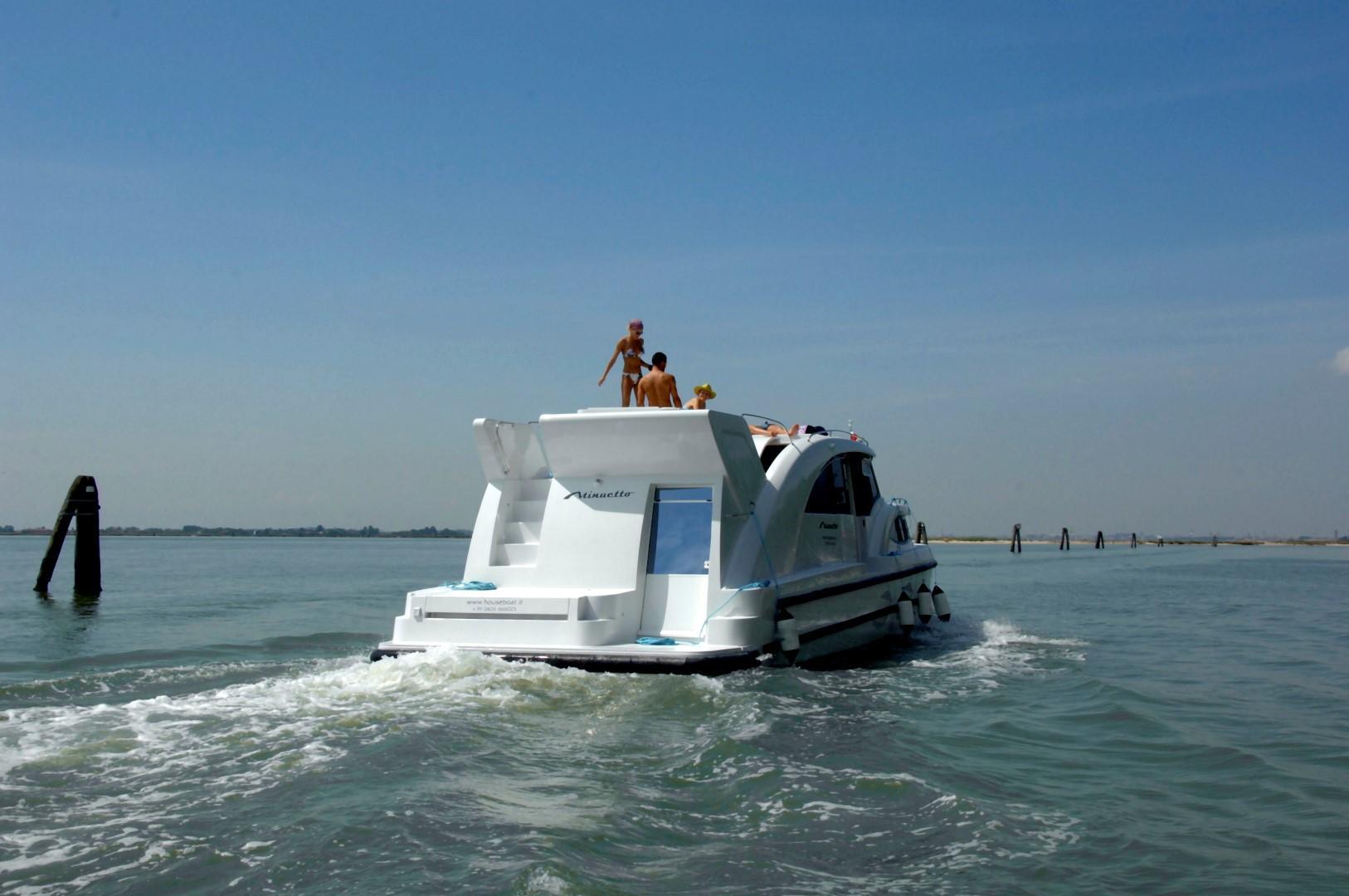 Nell'Alto Adriatico in house boat fra lagune e fiumi