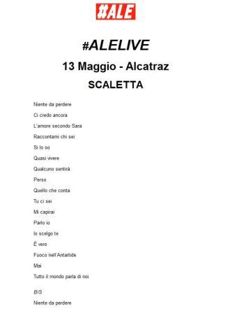 Alessandro Casillo live, esplosione di gioia