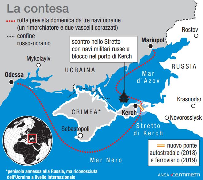 Crimea, l'ultimo scontro tra Mosca e Kiev