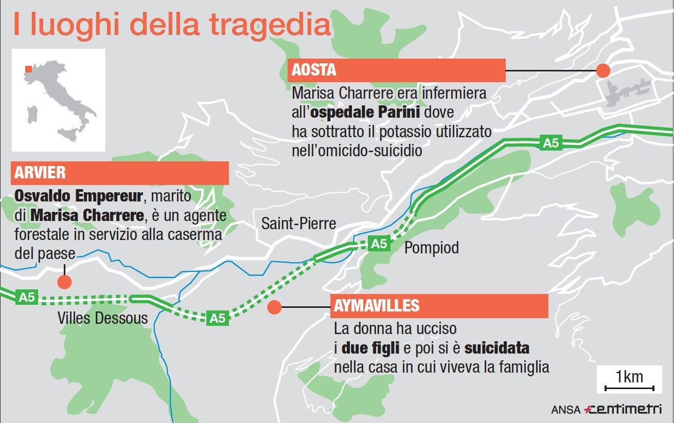 Aosta, infermiera uccide i due figli con un'iniezione letale