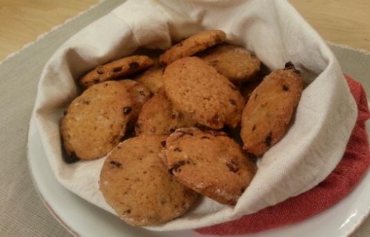 Biscotti alle bacche di goji