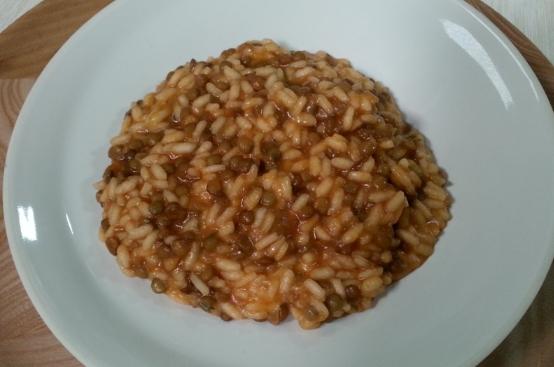 Risotto con lenticchie