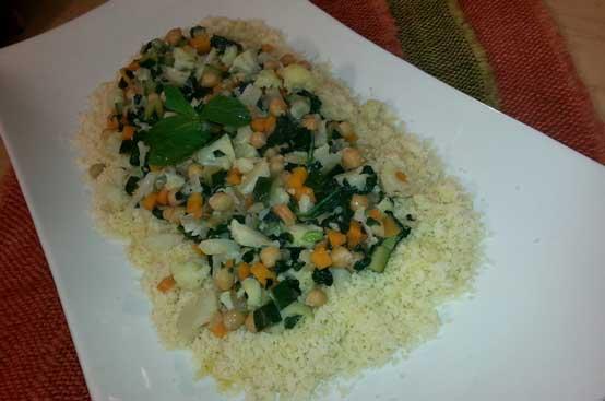 Cous cous di verdure di stagione
