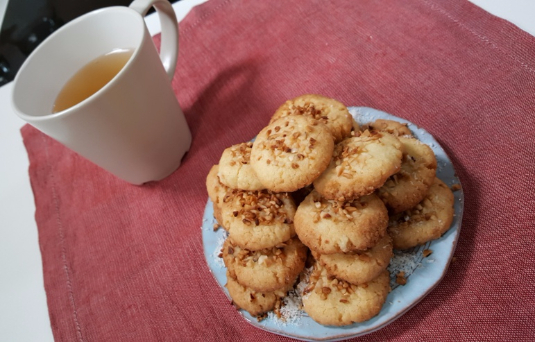 Biscotti  nocciolosi al cocco
