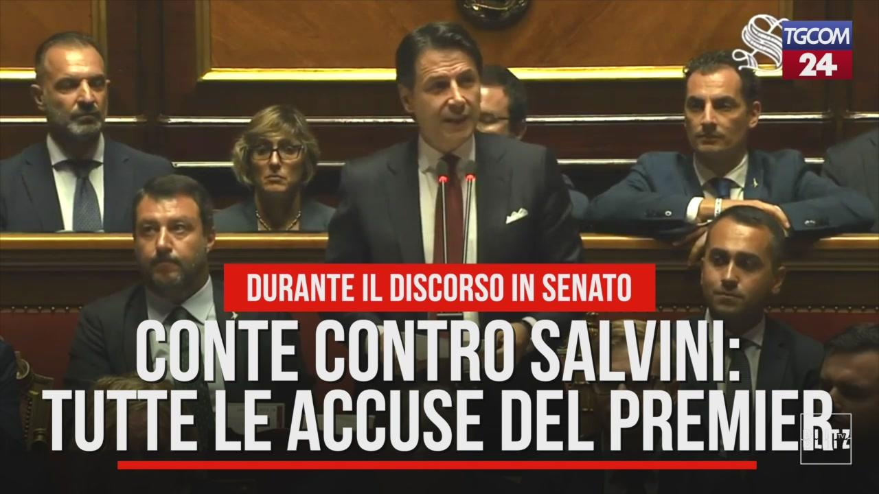 Conte contro Salvini: tutte le accuse del premier al ministro dell'Interno