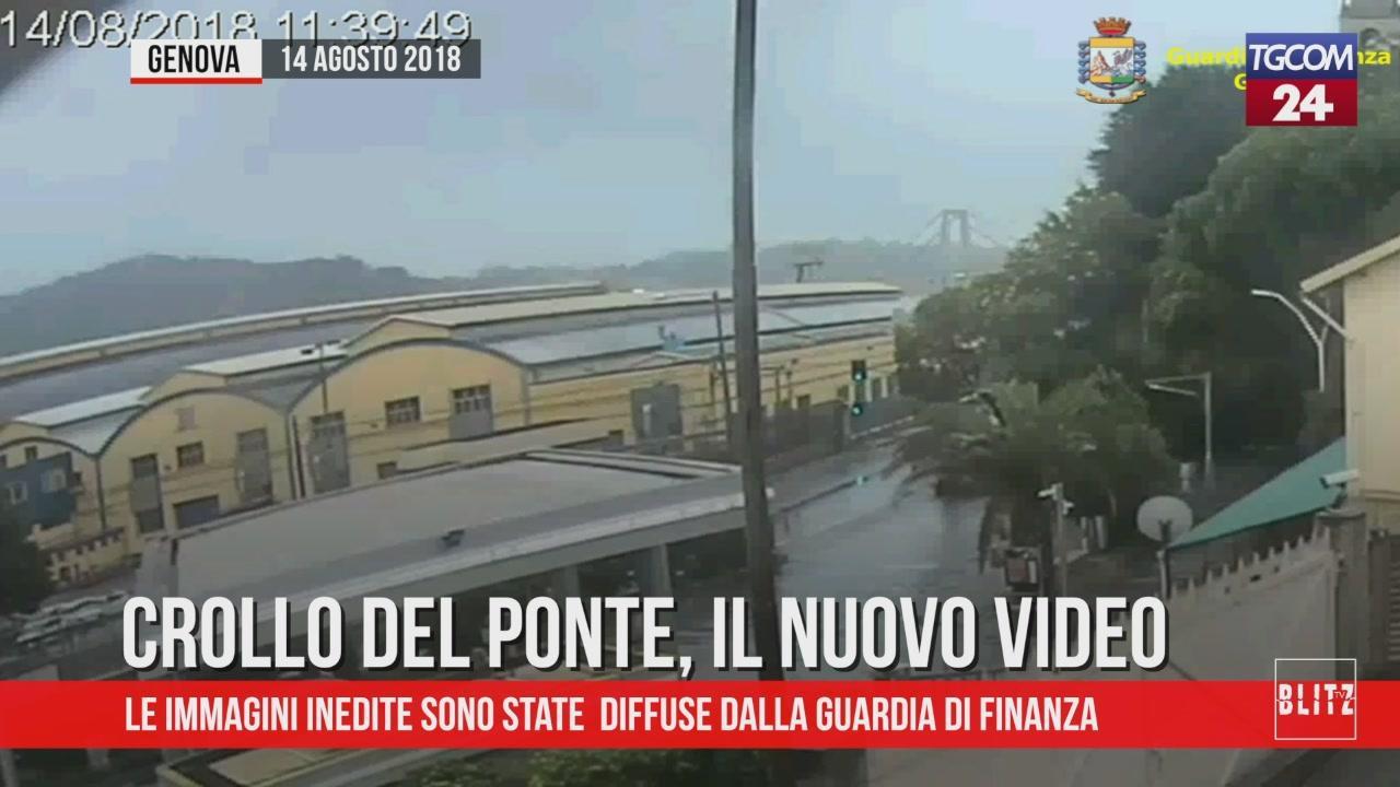 Genova, crollo del ponte Morandi: il nuovo video