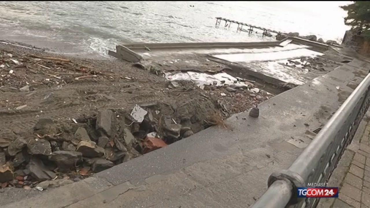 Allerta rientrata in Liguria, adesso si contano i danni