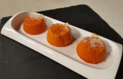 Flan di carote e zenzero