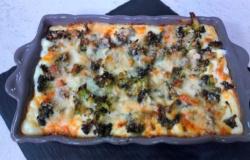 Lasagne broccoli e gorgonzola