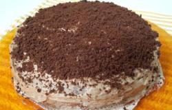 Torta cubana al rum e cioccolata